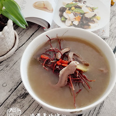 鸡骨草炖猪心汤
