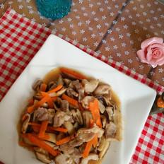 香菇肉丝的做法