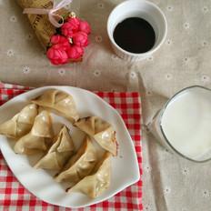 香菇娃娃菜煎饺