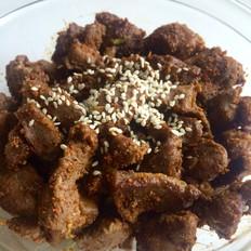 新疆风味烤羊肉块