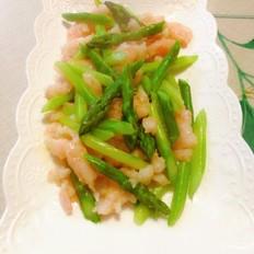 芦笋虾滑……春季养生菜