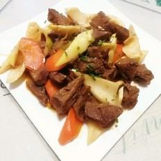 春筍炒牛肉
