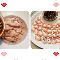 北极甜虾……白煮