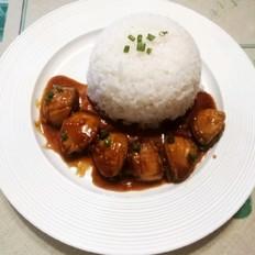 红烧鲍鱼饭