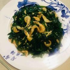 韭菜炒虾米