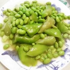 丝瓜毛豆的做法大全