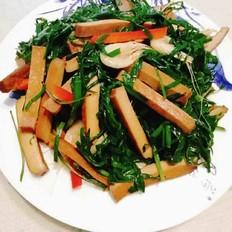 韭菜炒虾米香干