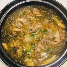 酸菜肥牛煲