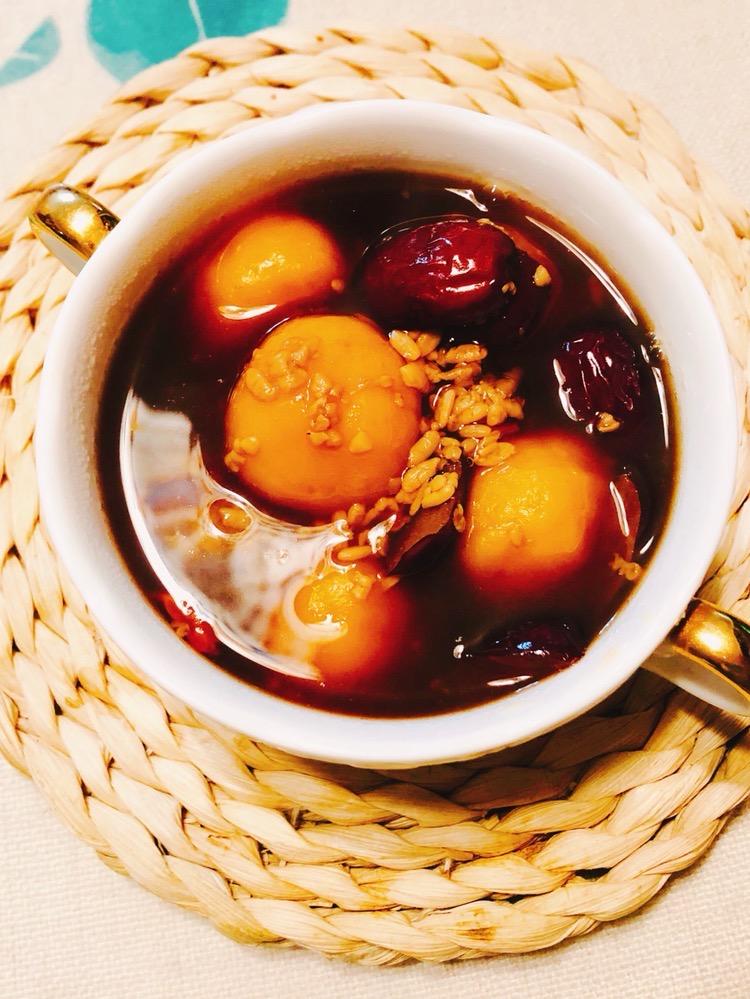 酒酿红枣南瓜圆子