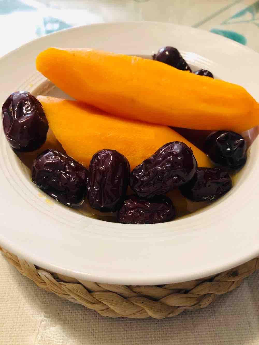 红枣焖红薯的做法