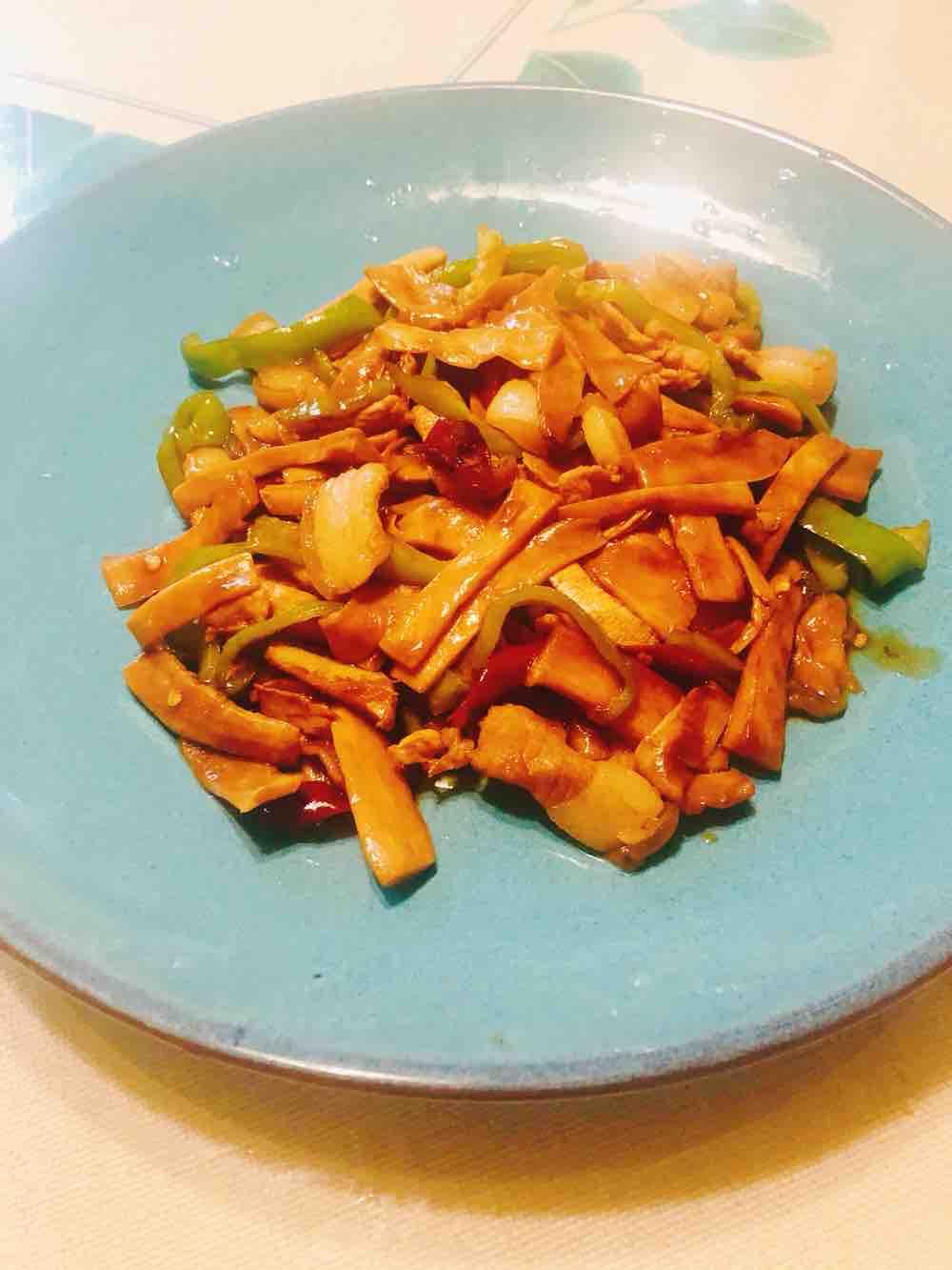 干锅杏鲍菇
