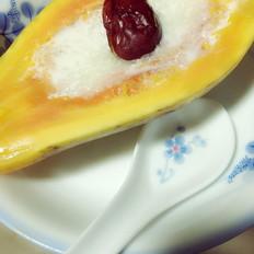 木瓜冰糖炖雪燕