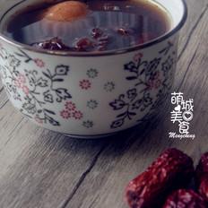 红枣枸杞鸡蛋桂圆茶