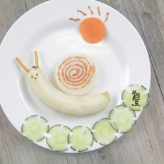 蜗牛早餐拼盘