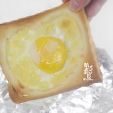 鸡蛋芝士烤吐司