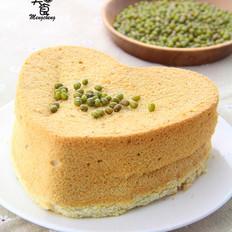 绿豆戚风蛋糕