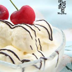炼奶冰淇淋