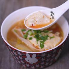 开胃又营养の番茄豆腐汤