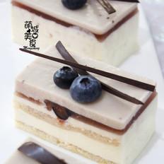 法式蓝莓蛋糕