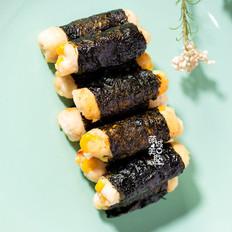 海苔鸡肉卷