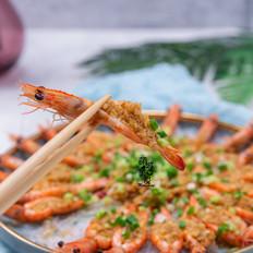 蒜蓉粉丝蒸虾