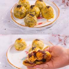 蛋黄酥--蛋挞版