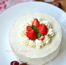 草莓鲜奶蛋糕的做法
