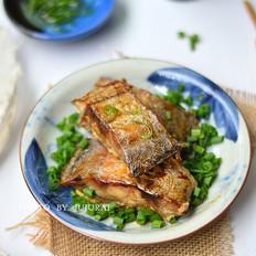 葱香烤带鱼