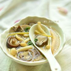 菌菇汤的做法