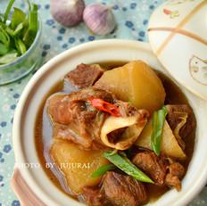 萝卜羊肉煲