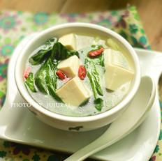 小白菜炖豆腐