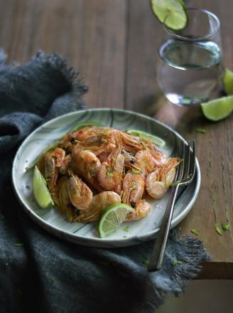 柠香北极虾的做法