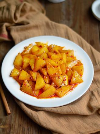 酱烧老黄瓜的做法