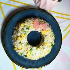圣诞花环米饭