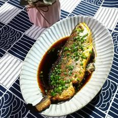 紅燒黃花魚的做法