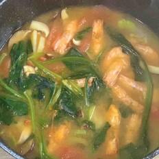 咖喱基围虾汤
