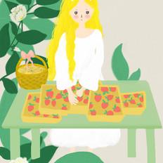 瑞士卷:于是我就开始把草莓卷着把芒果卷着把奶油卷着…