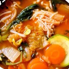 什锦泡菜汤