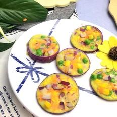 洋葱圈蔬菜蛋饼