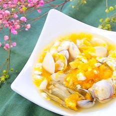 南瓜炖海鲜豆腐