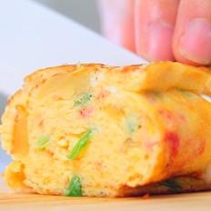 番茄土豆银鱼厚蛋烧