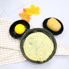 饺子皮葱油饼 宝宝辅食,鲜香酥脆全家都爱吃