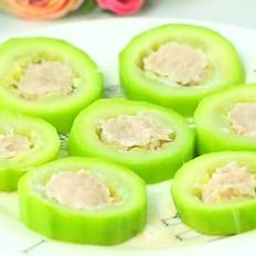 西葫芦蒸肉 宝宝辅食,补钙增强免疫力