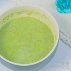 牛肉油麦菜米糊 宝宝辅食