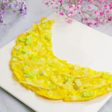 银鱼奶酪月亮饼 宝宝辅食,鸡蛋+甜地瓜+黄瓜