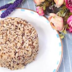 豆浆藜麦饭