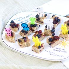 干果燕麦藕粉糕