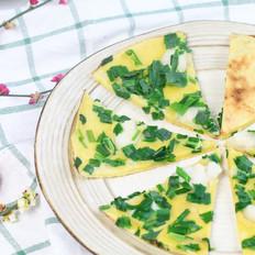 韭菜龙利鱼饼