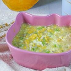 杂蔬南瓜疙瘩汤