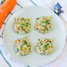 蔬菜蛋蒸肉